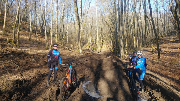 Sortie vtt combe Froideveau